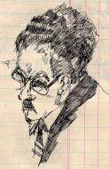 Leslie Cole self-portrait Brighton Faculty of Arts
