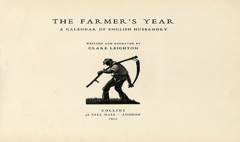 The Farmer's Year title page