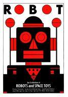 Paul Clark Robot Poster