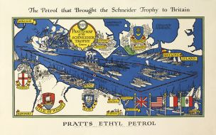 """Pratts Map of the Schneider Trophy Course"""