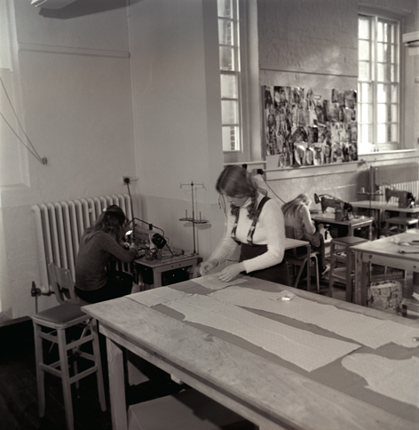 Pattern cutting at Finsbury Road