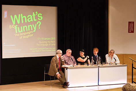 What's so funny conference British Library and University of Brighton