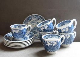 Royal Tudor Ware Cups