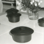 'Design '81, Helsinki: Display of pots' (From a contact sheet, uncatalogued). Icograda Archive / University of Brighton Design Archives.