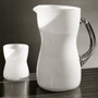 'White opal jug and glass designed by Timo Sarpaneva, manufactured by Iittala' (no date). Catalogue number: DCA-30-1-TAB-GL-IL-9. Design Council Archive / University of Brighton Design Archives.