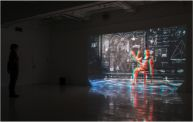 A life-sized 3D dance installation