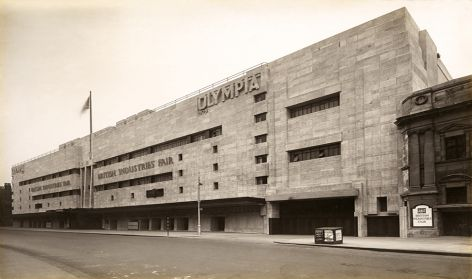 'Exterior of New Empire Hall, Olympia'