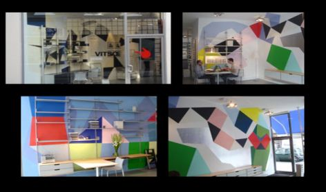 Mural Project, Vitsoe, London, 2005