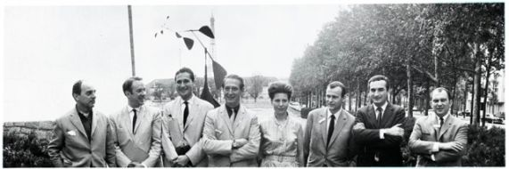 Study Group during ICSID's General Assembly in Paris, 1963. Archives Roger Tallon, Fonds conservé aux Arts Décoratifs, Paris distr. Les Arts Décoratifs, Paris / Tous droits réservés