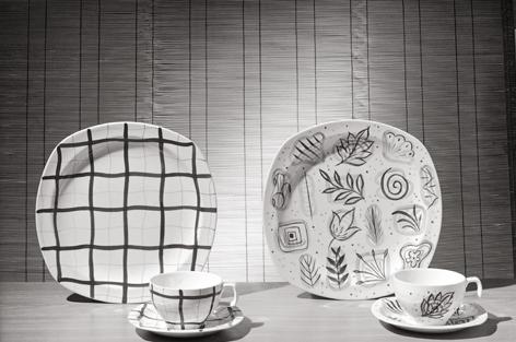 W R Midwinter Ltd. plates, University of Brighton Design Archives