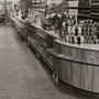 'Grocery department at OY Stockmann AB designed by W. West' (1949). Catalogue number: DCA-30-1-INT-SH-IL-7. Design Council Archive / University of Brighton Design Archives.