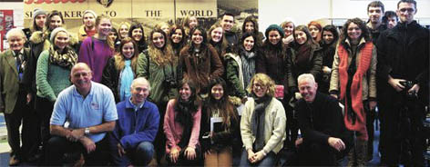 Students visit Bata