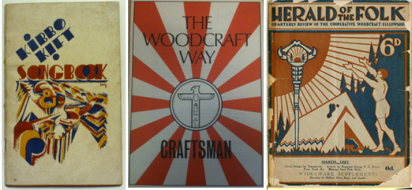 Various woodcraft publications, 1920s-1960s.