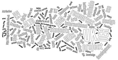 ALTO Project wordle image