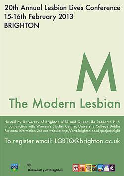 Lesbian Lives Conference 2013