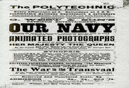 Image of playbill for 'Our Navy'