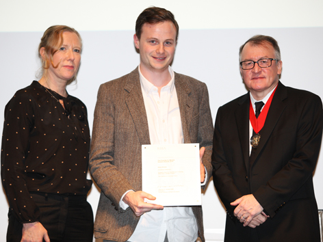 University of Brighton architecture graduate Oliver Riviere wins RIBA prize