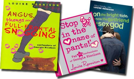 Brighton's Louise Rennison - Novels