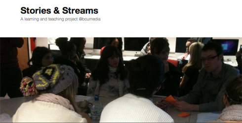 Header from stories and streams blog accessed on 20 June 2012