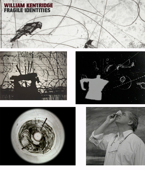 Composite of images related to William Kentridge