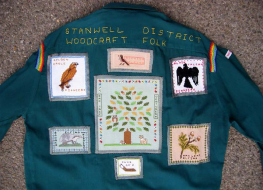 Woodcraft Folk folk shirt, 2000s.