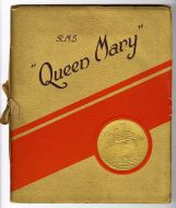 R.M.S. Queen Mary Souvenir brochure.