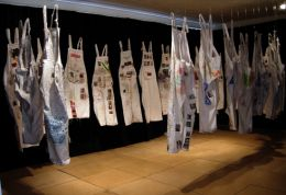 Alice Fox : Overalls Installation