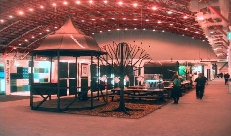 100% Sustainable? 2007 event space