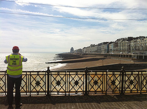 dRMM architects Hastings Pier project