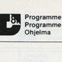 'Programme Design '81' (pages 27 and 28). Catalogue number: ICD-2-10-1-10.15. ICSID Archive / University of Brighton Design Archives.