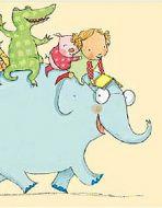 Illustration from Hello Tilly