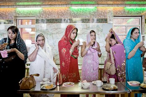 Sikh Wedding, Soho Road, Gurdwara by Liz Hingley
