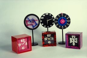 'Collection of clock designs'