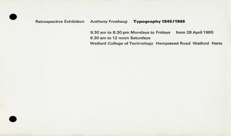 'Retrospective Exhibition'