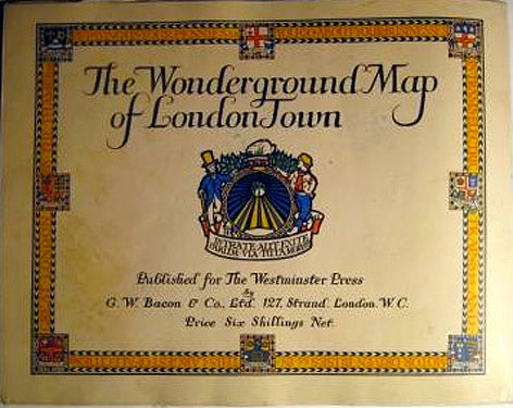 Max Gill Wonderground Map