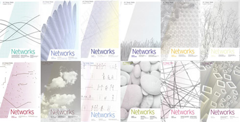 Covers of Networks issues 1 - 12