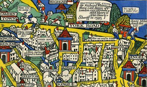 """""""Wonderground"""", 1914 (detail)."""