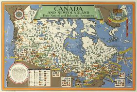 """Canada and Newfoundland: Their Natural and Industrial Resources"""