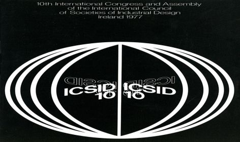 Brochure for ICSID's Xth Congress in Dublin, 1977, ICSID Archive, University of Brighton Design Archives.
