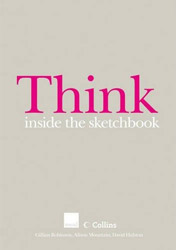 Think inside the sketchbook cover