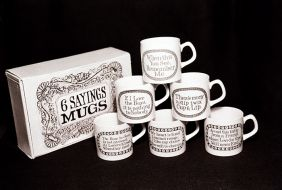 '6 Sayings Mugs'