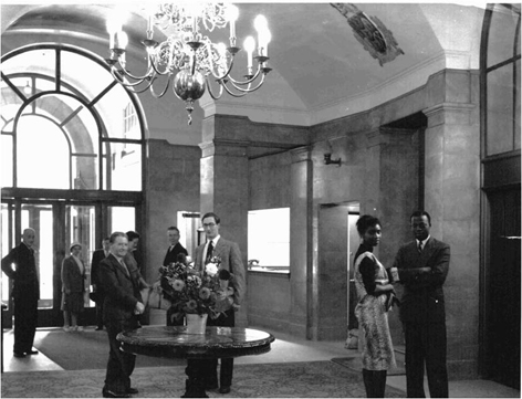 Entrance Hall, the Royal Commonwealth Society, 1959 RCS II (e) 6