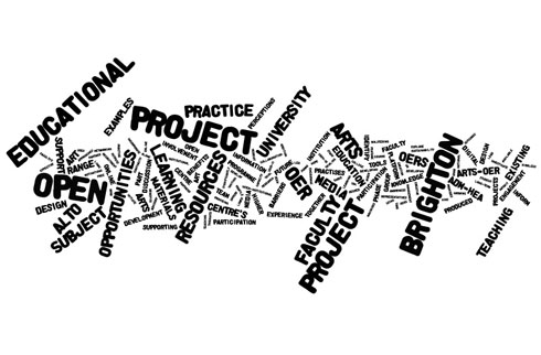 ARTS-OER Wordle