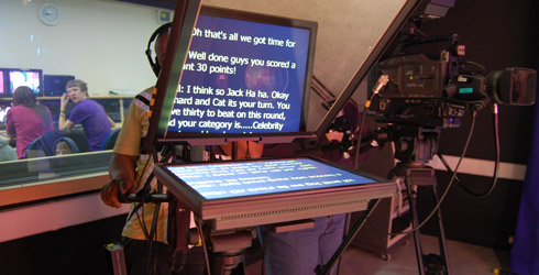 Photo: Karen Arrand, Coventry School of Art and Design TV production studios