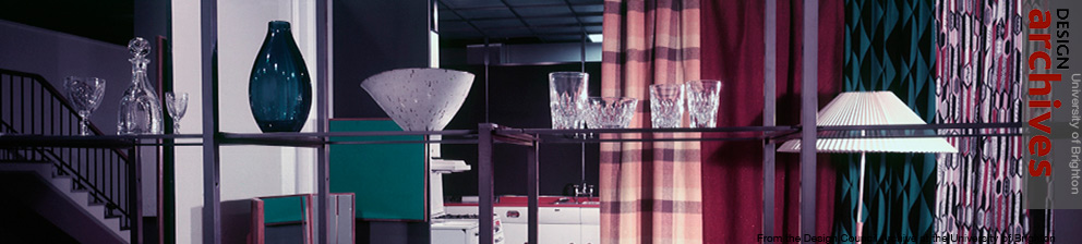 Photograph of interior design from the Design Council Archive, University of Brighton Design Archives