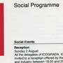 'Programme Design '81' (pages 17 and 18). Catalogue number: ICD-2-10-1-10.10. ICSID Archive / University of Brighton Design Archives.