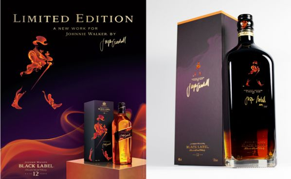 Jasper Goodall design for Johnny Walker