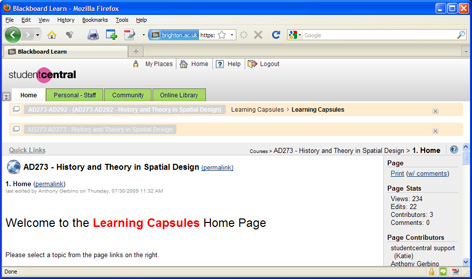 The Learning Capsules Website