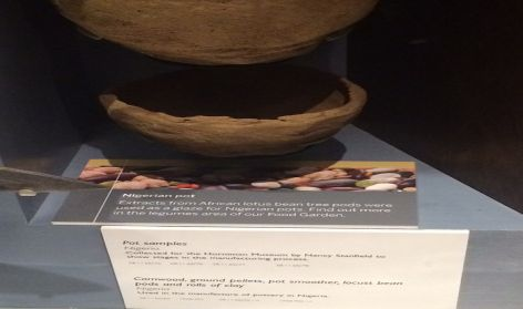 Nigerian pot on display: