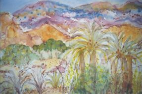 Detail from a series of drawings made in Tafroute Region, Dr Sue Michaelson